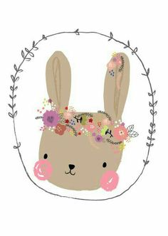 Aless Baylis 'Kaart Bunny' for Petite Louise Art And Illustration, Illustrations, Image Deco, Motifs Animal, Cute Drawings, Easter Drawings, Nursery Art, Cute Wallpapers, Cute Art