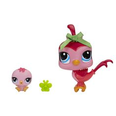 "Littlest Pet Shop Pet and Friend - Bird and Baby Bird - Hasbro - Toys ""R"" Us"