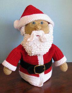 Free Crochet Amigurumi Santa Claus Pattern
