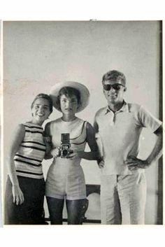 Jackie Kennedy's 60-Year-Old Selfie