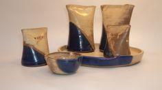 www.manoschilenas.com www.facebook.com/manos.chilenas Juego de alcuza en cerámica gres - Game of oil-bottle in ceramic sandstone