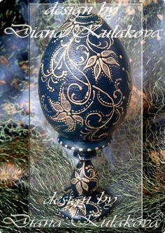 Декор предметов Пасха Роспись Яйца пасхальные - ручная роспись Краска фото 4