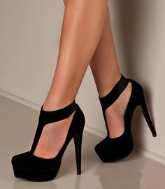 If I owned these, I would never need another pair of black heels again.  These are literally just -- ahh, I can't even.