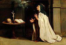 Cuadro de Peter Paul Rubens de la santa.