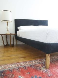 How to upholster an ikea bed