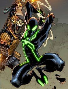 Spider-Man Spider Man Black, Marvel Comic Books, Marvel Comic Universe, Comics Universe, Marvel Characters, Marvel Heroes, Comic Book Characters, Marvel Dc Comics, Comic Books Art