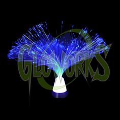 FIBER OPTIC LED CENTERPIECE (1 PIECE) - Gloworks – Light up LED toys, glow items, novelties, and gifts