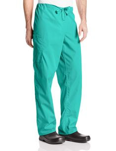 This one is a bestseller on Amazon, nice tapered leg and the reviews say it's soft and fits well but runs big. The leg pocket is handy. Amazon.com: Cherokee Workwear Scrubs Unisex Cargo Pant: Clothing