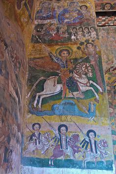 Church of Abreha en Azbeha, Ethiopia, Tigray provence