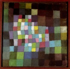 Paul Klee, Abstrakt mit Bezug auf einen blühenden Baum (Abstraction with Reference to a Flowering Tree), 1925