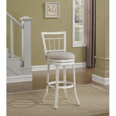 "One Allium Way® Troene 26"" Swivel Counter Stool"