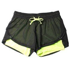 Detector Womens Fitness Running Shorts