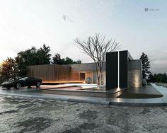 We do not design houses - we design lifestyles! Architecture Résidentielle, Amazing Architecture, Contemporary Architecture, Design Villa Moderne, Modern Villa Design, Facade Design, Exterior Design, Exterior Tradicional, Modern Architects