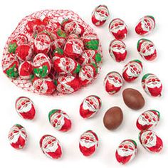 Santa Mini Chocolate Eggs