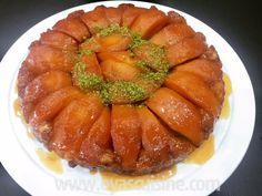 Karamel Soslu Ayva Tart Tatin Good Food, Yummy Food, Tasty, Quiche, Turkish Recipes, Ethnic Recipes, Food Blogs, Cake Recipes, Food And Drink