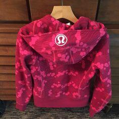 Lululemon sweat jacket Berry style lululemon jacket size 4 special new balance edition . Berry colors perfect condition . lululemon athletica Jackets & Coats
