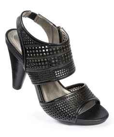 Loving this Black Goat Dixie Leather Sandal on #zulily! #zulilyfinds