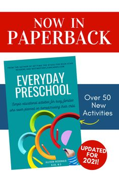 Everyday Preschool Activity Book - No Time For Flash Cards Preschool Activity Books, Literacy Activities, Educational Activities, Phonological Awareness Activities, Bedtime Reading, School Closures, Kids Learning, Teaching, Cards