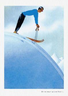 Ski Posters, Travel Posters, Charlie Adam, Accordion Book, Illustration Art, Illustrations, King Jr, Watercolour, Skiing