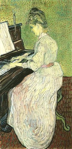 Vincent van Gogh: The Paintings (Marguerite Gachet at the Piano)