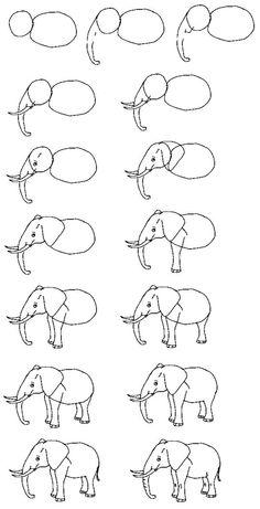 Dibujos delíneas simples de animales, al estilo de los dibujos animados y el cómic; ejemplos para practicas.  COMPRENDER: • Los componentes básicos de los objetos representar. • Lalínea en una obra de arte como definitoria de sus formas básicas. • Lacalidad de la línea aumenta el potencial descriptivo en una obra (texturas, movimiento, luz, … #Art #Design #Illustration #Illustrator #Sketch #Drawing