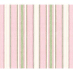 Baby Pink Sunny Stripe Wallpaper: Baby