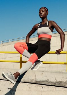 H&M Sport's spring line includes running leggings, sports bras, tanks and more.