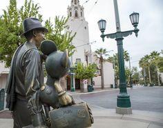 A Unique Point of View: 'Storytellers' Statue at Disney California Adventure Park « Disney Parks Blog
