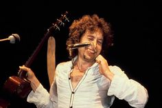 Bob Dylan On Stage In The Eighties