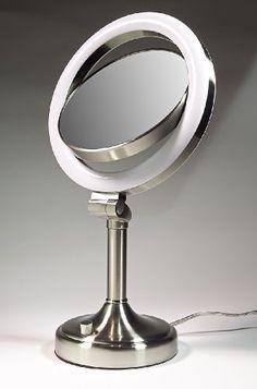 Zadro SLV410 Dimmable Sunlight Lighted Vanity 1x-10x - Satin Nickel Zadro,http://www.amazon.com/dp/B002TIU434/ref=cm_sw_r_pi_dp_osjAtb16M1PQGPW2