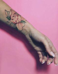 Peony tattoo by nora ink wrist tattoos, tattos, ink tattoos, cute tattoos, X Tattoo, Tattoo Style, Piercing Tattoo, Back Tattoo, Tiny Tattoo, Tattoo Quotes, Pretty Tattoos, Love Tattoos, Beautiful Tattoos