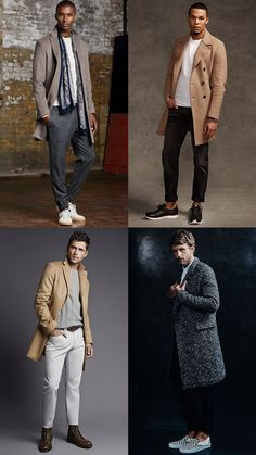 Men's Winter Overcoats In Spring Outfit Inspiration Lookbook