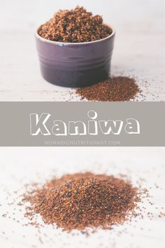 What is kaniwa? Learn about this seed (sometimes called a pseudo-grain), the nutritional benefits and how to cook it. Gluten Free Recipes For Breakfast, Bulk Food, Tasty, Yummy Food, Quinoa, Easy Meals, Healthy Eating, Nutrition, Snacks
