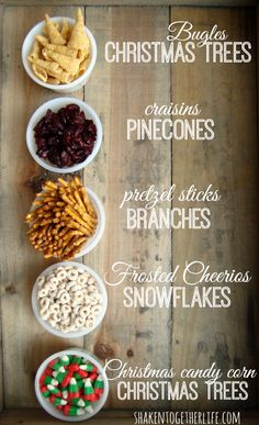 This yummy Christmas snack mix is the perfect combination of salty & sweet! I can't wait to make a batch! #SwellNoel