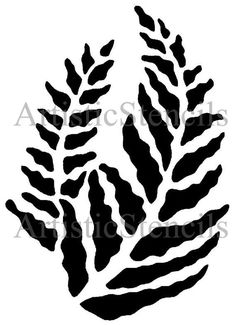 Fern Stencil Cut from durable 7 mil mylar and can be used over and over Image size: 10 X 7 inches Need a different size? Just convo us. We are happy to ship internationally. Just convo us your country and postal code for a shipping quote. Stencils, Stencil Templates, Stencil Patterns, Stencil Art, Stencil Designs, Stencil Decor, Deco Cuir, Flora Und Fauna, 3d Laser