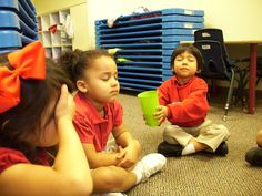 Pass the cup from The Mindful Child at Salesmanship Club's Jonsson school in Dallas, Texas.
