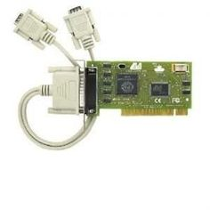 Dual Serial PCI-Low Profile by LAVA Computer. $57.88. Dual Serial low profile PCI 2 DB9-pin serial ports. Male 16550 Uart. Capable of 115000 kbps. Shared IRQ. Includes LAVA Com Port redirect utility for backward compatibility with software that supports Com 1-4 PCI 2.1 compliant.
