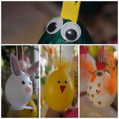 Süti és más...: Vidám tojások DIY Diy, Christmas Ornaments, Holiday Decor, Home Decor, Decoration Home, Bricolage, Room Decor, Christmas Jewelry, Do It Yourself
