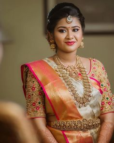 Bridal Blouse Stitching in Chennai, PattuPavadai Stitching In Chennai, Lehenga Stitching in Chennai, Wedding Blouse stitching in Chennai, Ladies Tailoring. Wedding Saree Blouse Designs, Half Saree Designs, Pattu Saree Blouse Designs, Fancy Blouse Designs, Dress Designs, Gold Designs, Bridal Silk Saree, Saree Wedding, Silk Sarees