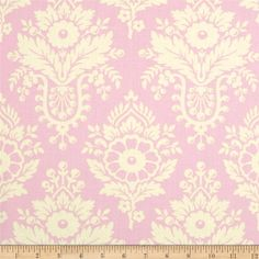 Heather Bailey Up Parasol Lulu Pink from @fabricdotcom  Designed by Heather Bailey for Free Spirit, this cotton print is perfect for quilting, apparel and home decor accents.  Colors include off white and pink.
