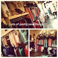 New fashion fun in the boutique.....