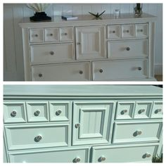 Before: too much white! After: Happy client.