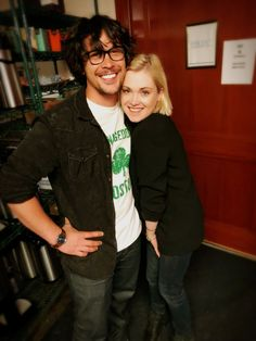 Bob Morley and Eliza Taylor!
