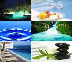 WellnesSs Greek Blue, Diving, Fountain, Zen, Greece, Wellness, Outdoor Decor, Home Decor, Greece Country