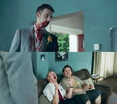 Shaun of the Dead (2004)...I love Simon Peggs face