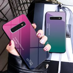 Gradient Tempered Glass Phone Case For Samsung Galaxy Plus Note 8 9 Edge 2018 Back Cover Conque Price: & Worldwide Shipping Samsung Galaxy S6, Samsung Cases, New Mobile Phones, New Phones, Iphone 7, Iphone Cases, Galaxy Note, Capas Samsung, Cell Phone Plans