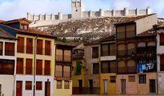 Rutas históricas en Castilla y León. Castillo de Peñafiel