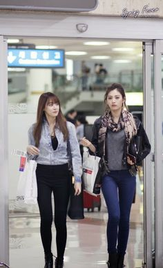 juyeon and nana from after school