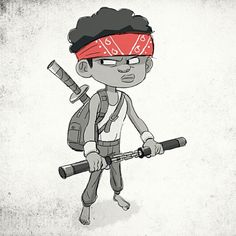 Back in the day, when I thought I was a ninja #Sketch_Dailies