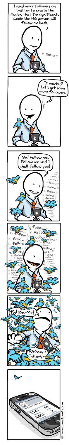 Beware of Twitter Follower Obsession